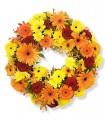 1 Corona, 9 Rosas, 15 Gerberas, Maules y Alstroemerias